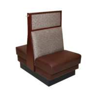 dual back booth seat Crystal Minnesota