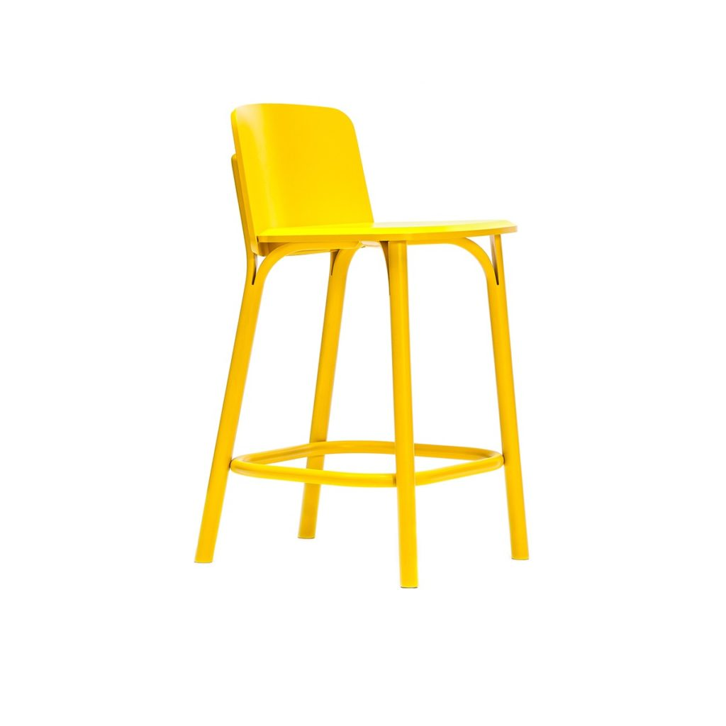 yellow wood chair Crystal Minnesota