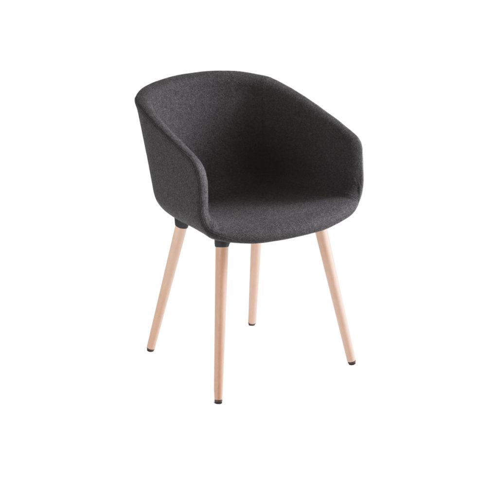 black cloth chair Crystal Minnesota