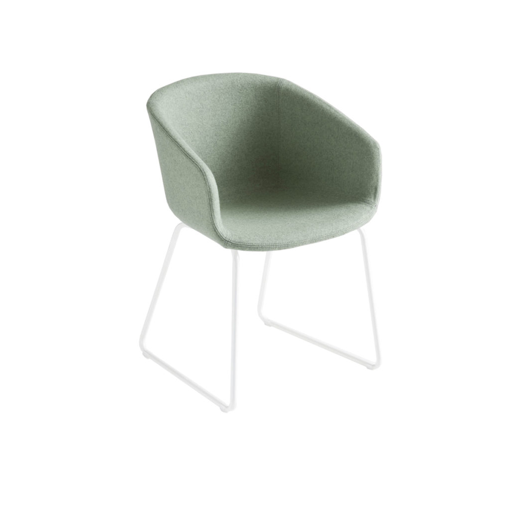 green cloth chair Crystal Minnesota