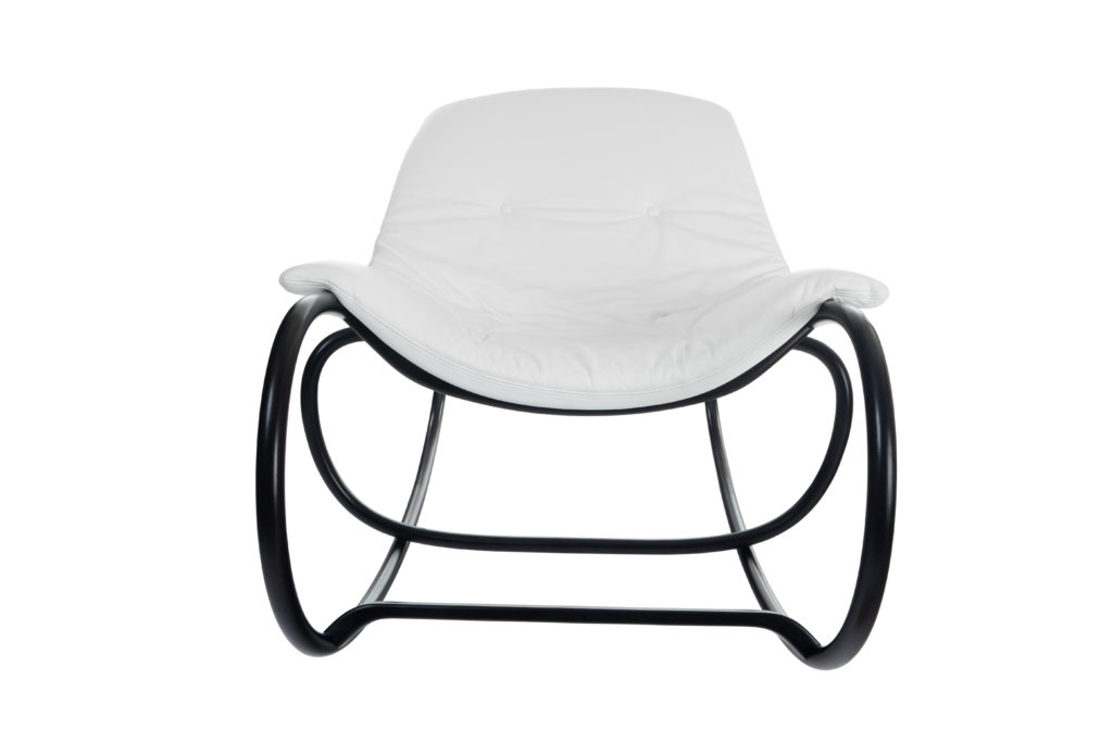 white chair with black finish Crystal Minnesota