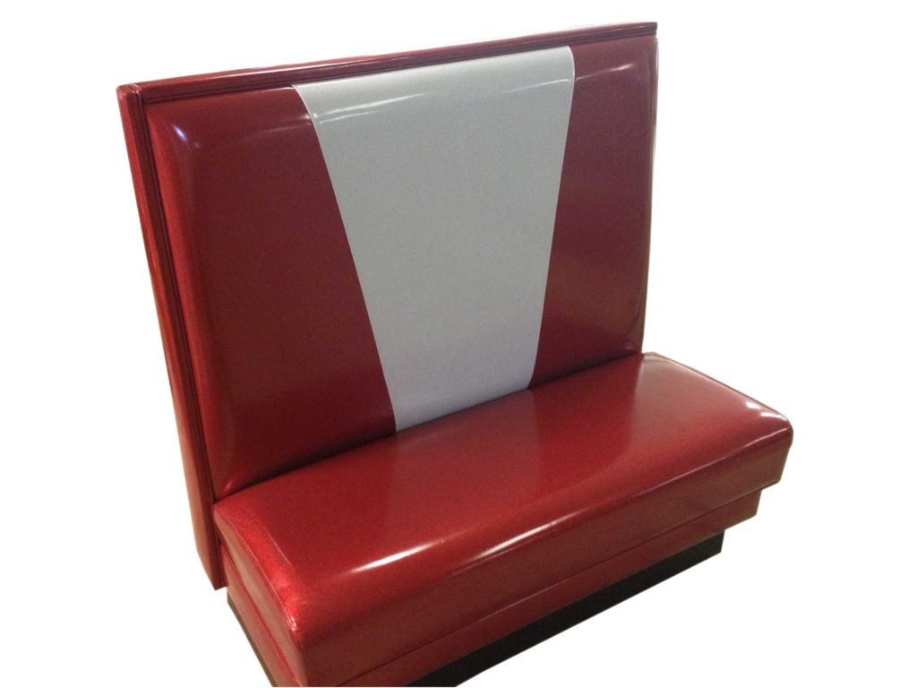 glossy red booth chair Crystal Minnesota