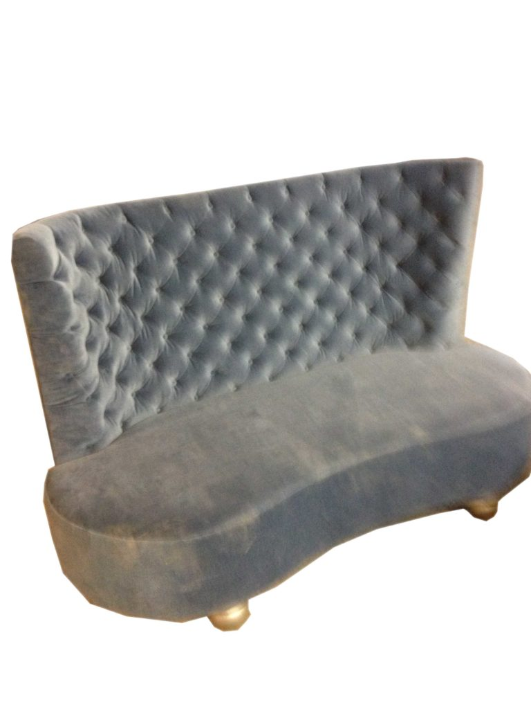 silver suede chair Crystal Minnesota