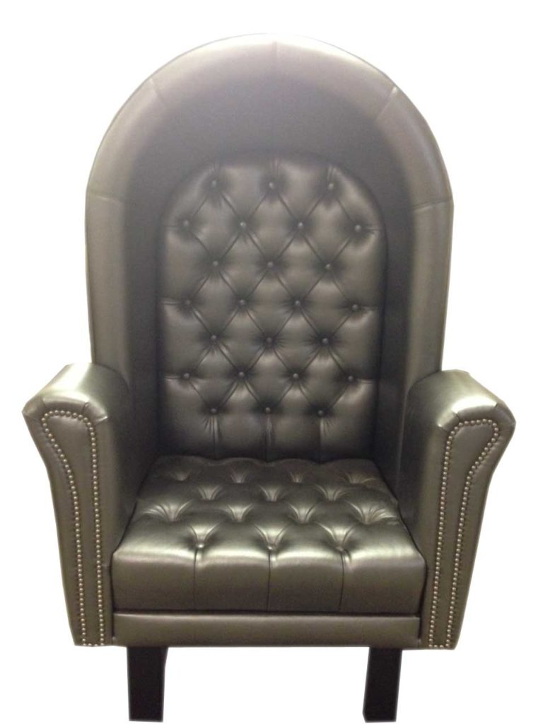 black leather chair Crystal Minnesota