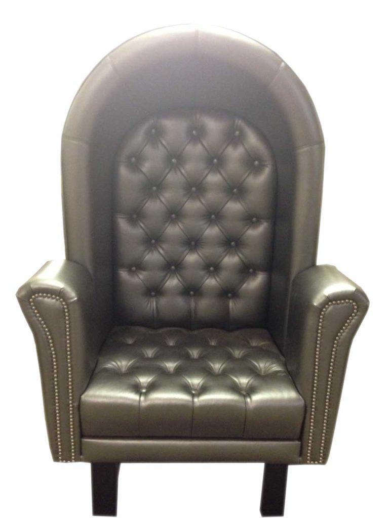 black leather chair Crystal Minnesota